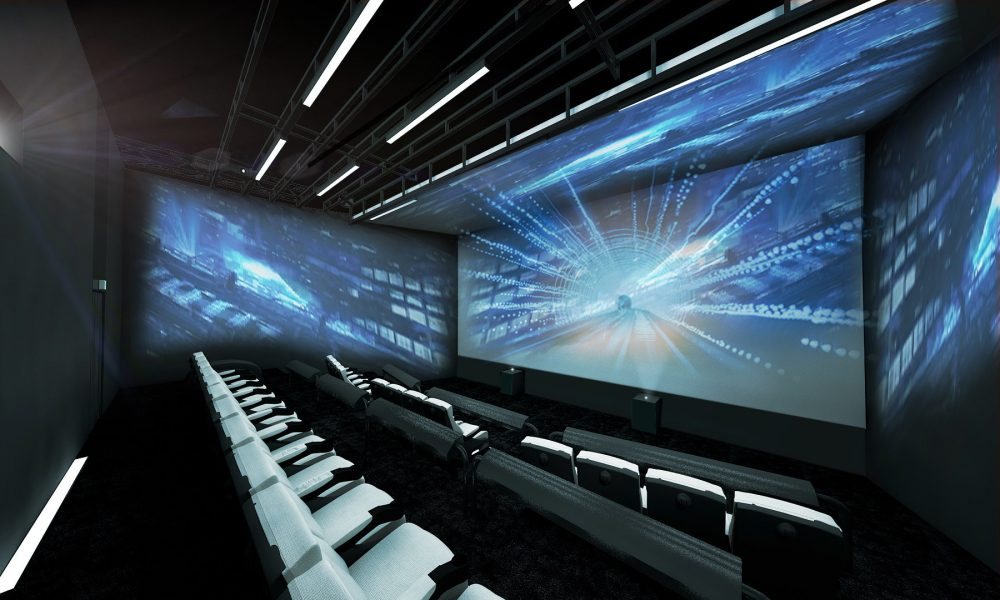 CES: World's first 4-sided cinema screen makes debut - Gadget